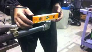 Tig Welding A Chin Up Bar Using Socket Welds