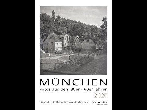 Edititionskalender 2020 - München 1930 - 1960