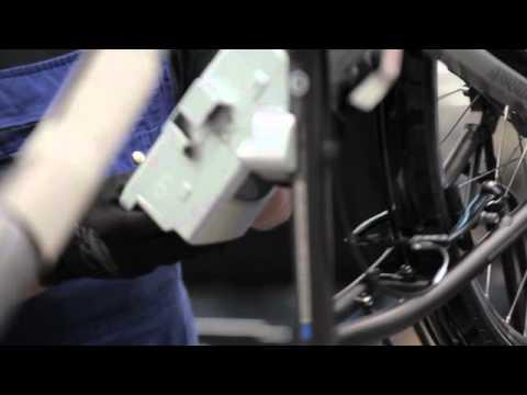 Derby Cycles eBike Weltneuheit - Raleigh Impulse Pedelec Antrieb mit Rücktritt