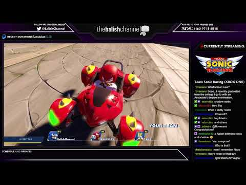 Balish Plays Team Sonic Racing