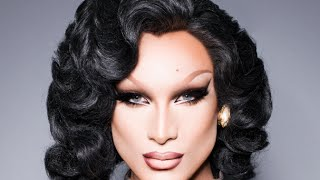 ... How to cover eyebrows. Miss Fame - Femme Fatale Drag Makeup Tutorial