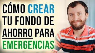 Video: Cómo Crear Tu Fondo De Emergencia (Ahorro Para Imprevistos)