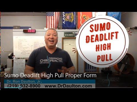 Sumo Deadlift High Pull - Proper Form