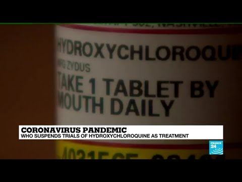 WHO suspends clinical trial of Hydroxychloroquine