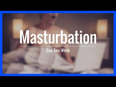 masturbation gay song week