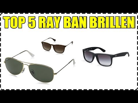 💎 TOP 5 RAY BAN SONNENBRILLEN - AVIATOR, CLUBMASTER, JUSTIN... 💎
