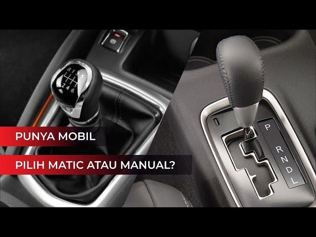 Pilih Mana Transmisi Matic atau Manual? Ini Jawabannya...
