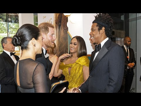 Watch Lion King Cast React to Meghan Markle and Prince Harry at the London Premiere! (Exclusive)