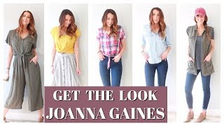 GET THE LOOK: JOANNA GAINES - FIXER UPPER - CAPSULE WARDROBE - HOW TO STYLE BASICS