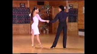 Смотреть онлайн Урок основным движениям в танце Ча-Ча-Ча