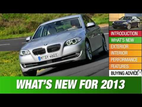 2013 BMW 5-Series Review