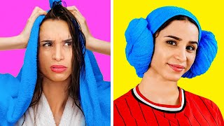 GENIUS BEAUTY HACKS THAT WILL SAVE YOUR LIFE || Cool Tricks And DIYs by 123 Go! Gold
