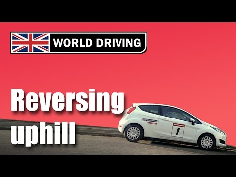 How to do hill starts in reverse in a manual/stick shift car – learning to drive