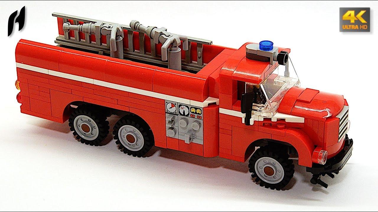 Fire Truck Tatra 148 (Updated MOC)
