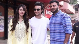 Salman Khan's Brother-In-Law Aayush Sharma At Gaiety Galaxy To Check Reaction To 'Loveratri' Teaser