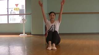 宝塚受験⽣のバレエレッスン~綺麗なアラベスクのために③~背筋を鍛えるのサムネイル画像