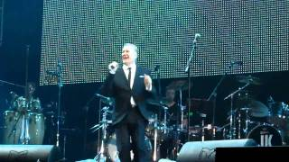 Tony Hadley singing a bit of ABC's All Of My Heart