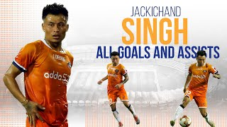 ISL 2019-20 All Goals & Assists: Jackichand Singh
