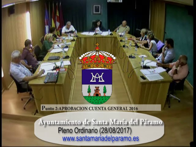 Pleno Ordinario 28-08-2017