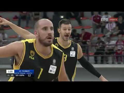 Basket League | Ολυμπιακός – ΑΕΚ 103-78 | HIGHLIGHTS | 03/10/21 | ΕΡΤ