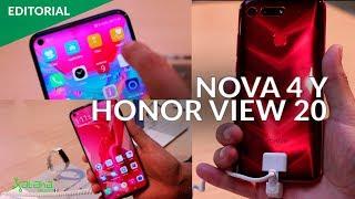 Huawei Nova 4 y Honor View 20 con agujero en la pantalla: los smartphones del futuro