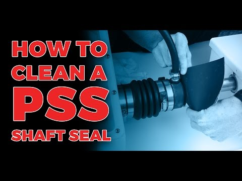 How To Clean A PSS Shaft Seal