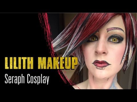 Maya | borderlands makeup tutorial youtube | cosplay.