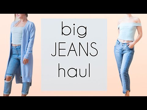 JEANS TRY-ON HAUL|My Aliexpress review