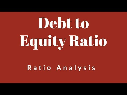 Debt to Equity Ratio - Class 12/HSC, Ratio Analysis