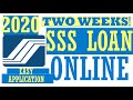 SSS ONLINE Salary Loan Registration (TWO weeks!) Application requirements in the Philippines
