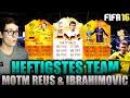 Download Video FIFA 16: HEFTIGSTES TEAM (DEUTSCH) - FIFA 16 ULTIMATE TEAM - OMG MOTM REUS & MOTM IBRAHIMOVIC!!