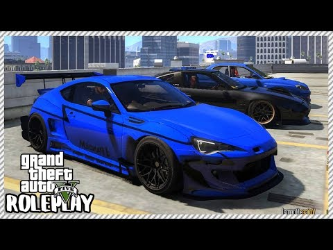 GTA 5 Roleplay - JDM Car Meet | RedlineRP #125