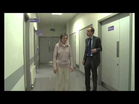 Pacjentka z chorobą Parkinsona
