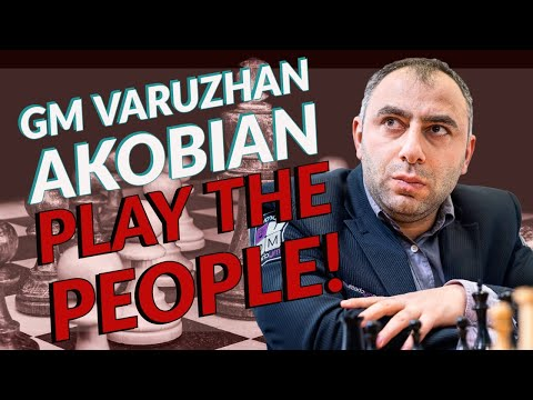 GM Varuzhan Akobian Plays The People!   lichess.org