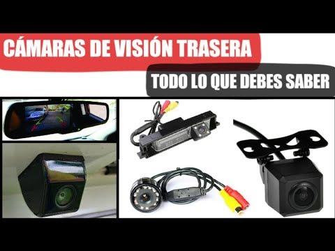 TODO sobre las cámaras de marcha atrás o visión trasera. Dacia, SEAT, Ford, Opel....