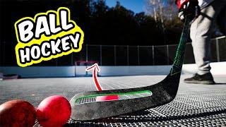 Ball Hockey VS Ice Hockey + Help Name our Team!