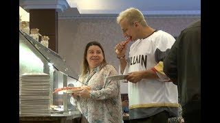 Eating Strangers Food At Buffet Prank!
