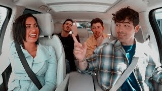 Jonas Brothers And Demi Lovato Reunited Carpool