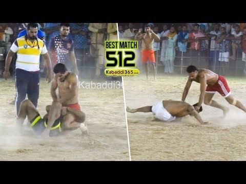 #512 Best Match | Doda Vs Dyalpura Mirza | Hamirgarh (Bathinda) Kabaddi Tournament 07 Jun 2019