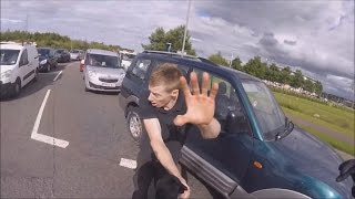 Best Bike Road Rage/Angry People 2017 ! (NEW)