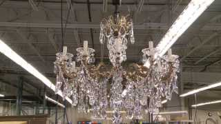 Made In Clinton County - Swarovski/Schonbek Crystal Chandeliers
