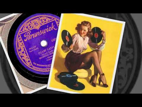 Polish 78rpm recordings, 1928. Brunswick 60053. Polowanie na żonę {Hunting for a wife}
