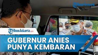 Momen Gubernur DKI Jakarta Anies Baswedan Bertemu 'Kembarannya', Ternyata Anak Buah Kapolri