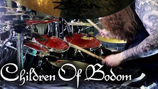 "Children of Bodom - ""In Your Face"" - DRUMS"