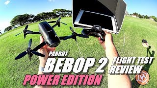 PARROT BEBOP 2 POWER Edition Review - Part 2 - [In-Depth Flight Test & Urban Range Test]