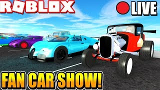 [ONE YEAR!] Roblox Vehicle Simulator Weekly Car Show! [ROBUX PRIZES] (Week 5)