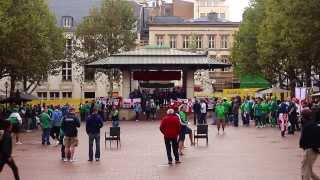preview picture of video 'Irish in Place d'Armes, Luxembourg city centre - 10th September 2013'