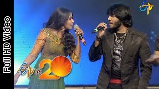 Smitha  Noel Sean Performance -Baha Kiliki Song in Viajaywada ETV @ 20 Celebrations