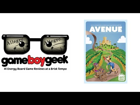 The Game Boy Geek's (Allegro  2-min) Review of Avenue