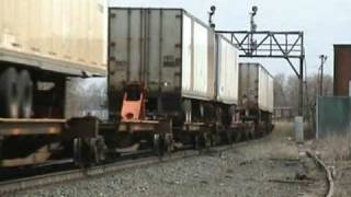 preview picture of video 'Smoking Intermodal at CP286 in East Syracuse'
